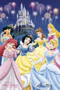 Disneyn prinsessat -juliste