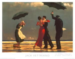 Jack Vettriano Laulava Hovimestari
