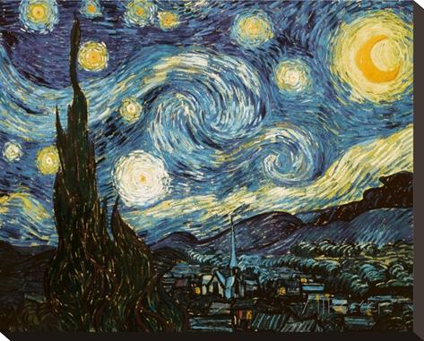 Vincent Van Gogh Tähtitaivas canvas-tauluna